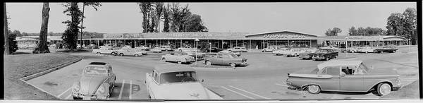 Wall Art - Photograph - Wildwood Manor Shopping Center Old by Fred Schutz Collection