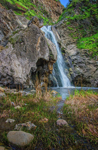 Photograph - Wildwood's Paradise Falls In Thousand Oaks by Lynn Bauer