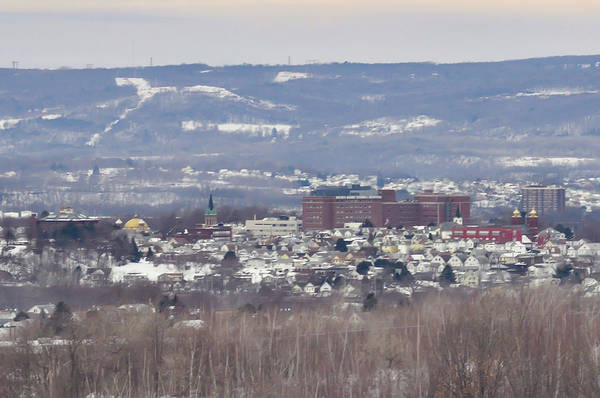 Photograph - Wilkes Barre Cityscape by Bill Cannon