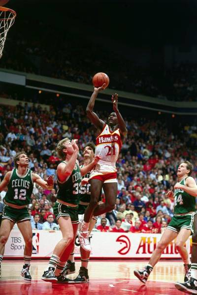 Photograph - Wilkins Takes A Jumper by Andrew D. Bernstein