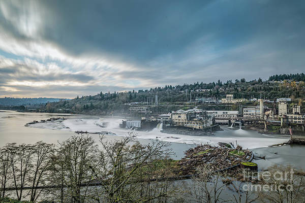 Photograph - Willamette Falls by Craig Leaper