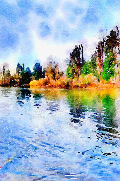 Wall Art - Photograph - Willamette River by Bonnie Bruno