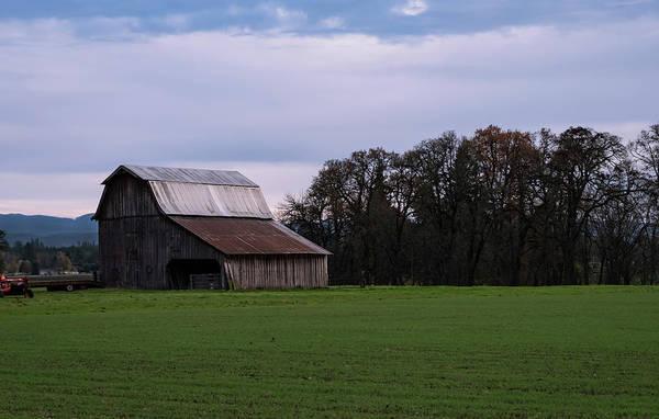 Photograph - Willamette Valley Farm by Steven Clark
