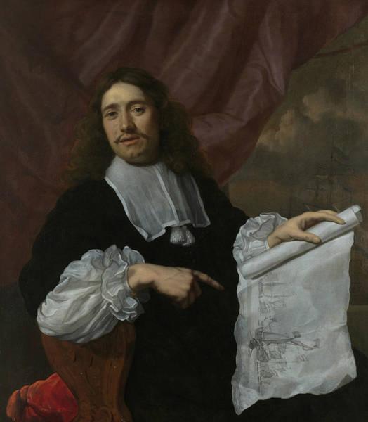 Painting - Willem Van De Velde II  by Lodewijk van der Helst