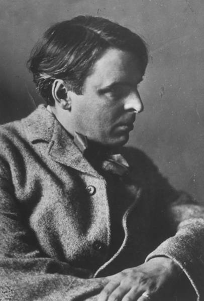 Poet Photograph - William Butler Yeats by E. O. Hoppe