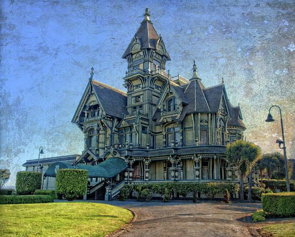 Photograph - William Carson Mansion by Thom Zehrfeld