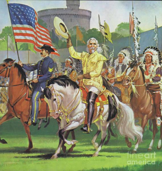 Horsemanship Painting - William Cody, Buffalo Bill  by Angus McBride