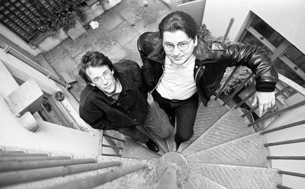 Released Photograph - William Gibson And Bruce Sterling by Martyn Goodacre