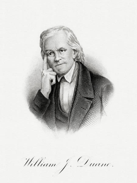 Matter Painting - William J. Duane by The Bureau of Engraving and Printing