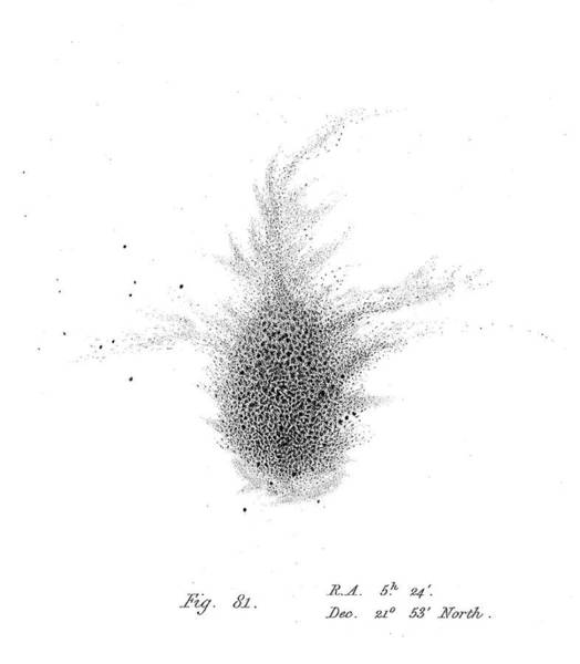 Wall Art - Photograph - William Parsons, Crab Nebula, 1844 by Science Source