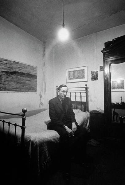 Photograph - William S. Burroughs by Loomis Dean
