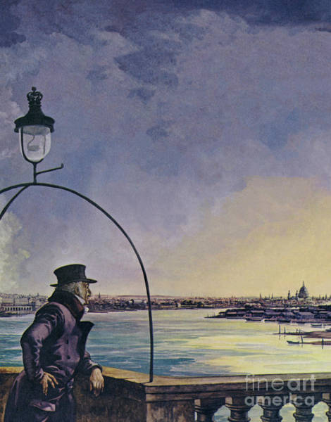 Wall Art - Painting - William Wordsworth, Upon Westminster Bridge by Peter Jackson