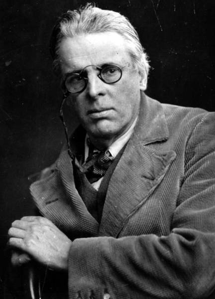 William Yeats Art Print by Hulton Archive