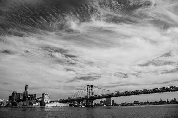 Williamsburg Photograph - Williamsburg Bridge And Brooklyn by Copyright Michael Spry