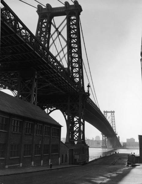 Williamsburg Photograph - Williamsburg Bridge by Frederic Lewis