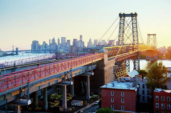 Williamsburg Photograph - Williamsburg Bridge by Tony Shi Photography