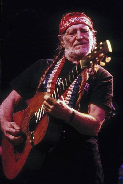 Pueblo Photograph - Willie Nelson Live by Larry Hulst