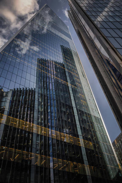 Photograph - Willis Building Reflections No 1 by Chris Fletcher