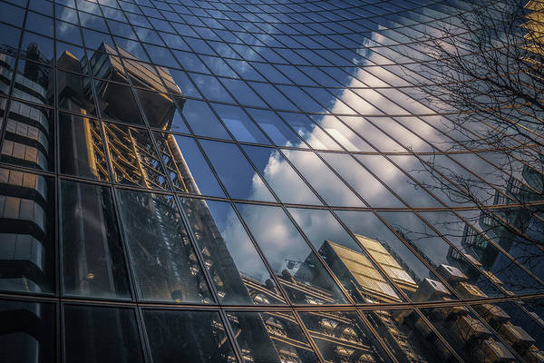Photograph - Willis Building Reflections No 3 by Chris Fletcher