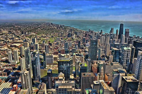 Photograph - Willis Tower View # 3 - Chicago by Allen Beatty