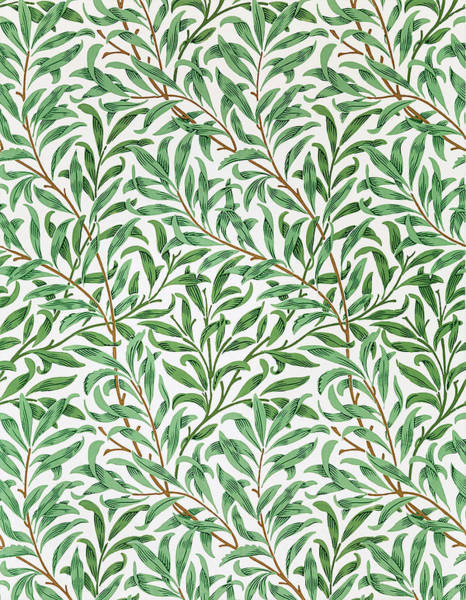 Wall Art - Painting - Willow Bough - Digital Remastered Edition by William Morris