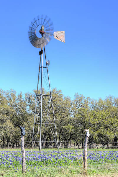Photograph - Willow City Windmill by JC Findley