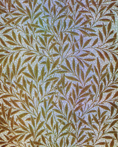 Wall Art - Painting - Willow - Digital Remastered Edition by William Morris