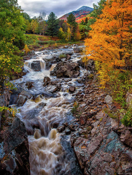 Photograph - Wilmington Ausable River by Mark Papke