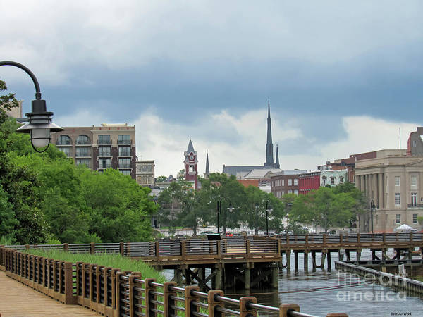 Wall Art - Photograph - Wilmington Skyline by Roberta Byram