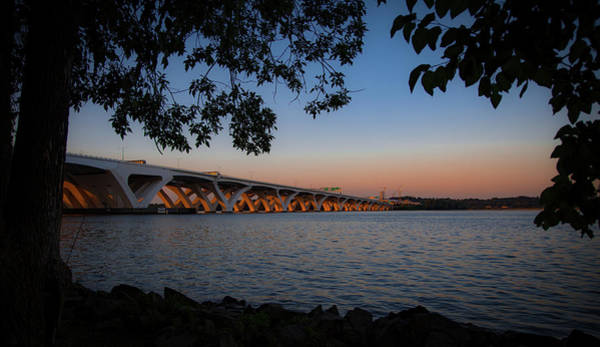 Photograph - Wilson Bridge From Jones Point by Lora J Wilson