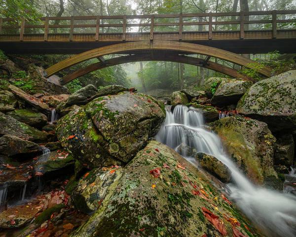 Wilson Creek Bridge Art Print