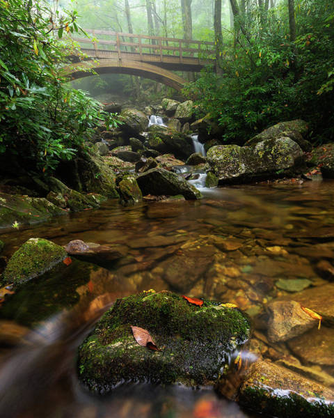 Photograph - Wilson Creek Bridge Tanawha Trail - Blue Ridge Parkway by Mike Koenig