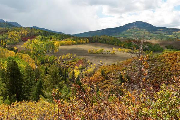 Photograph - Wilson Mesa Autumn Landscape by Cascade Colors