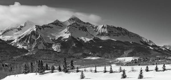 Wall Art - Photograph - Wilson Peak Winter Panorama by Bridget Calip