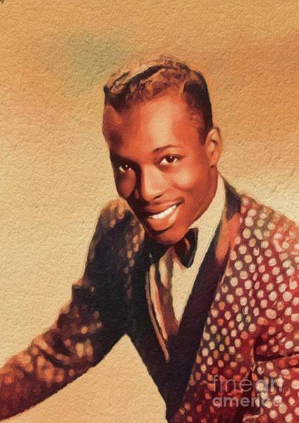 Wall Art - Painting - Wilson Pickett, Music Legend by John Springfield