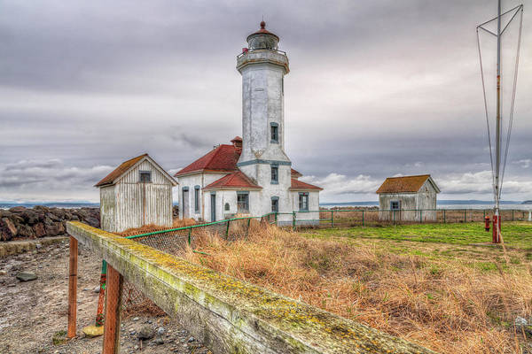Port Townsend Photograph - Wilson Point Lighthouse by Spencer McDonald