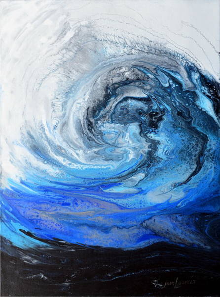 Painting - Wind And Wave by Joan Garcia