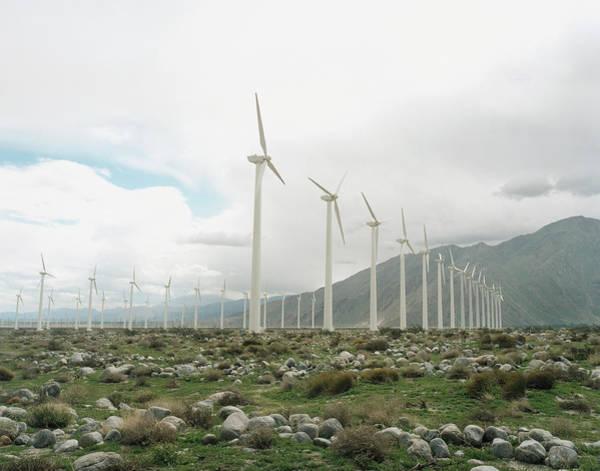 Photograph - Wind Farm by Silvia Otte
