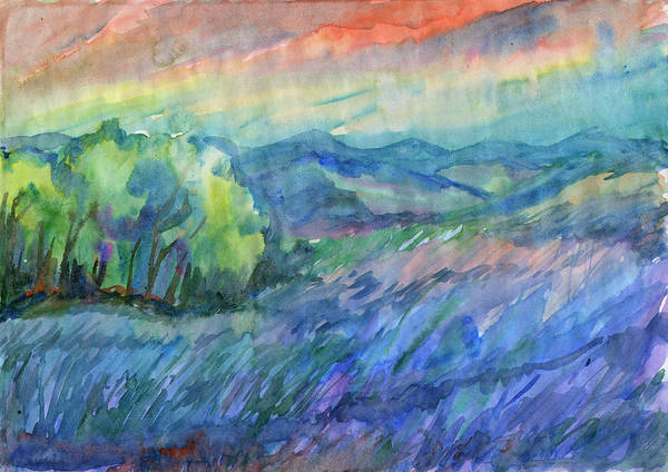Painting - Wind In The Meadow by Irina Dobrotsvet