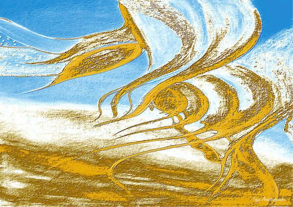 Wall Art - Digital Art - Wind Melodies by Faye Anastasopoulou