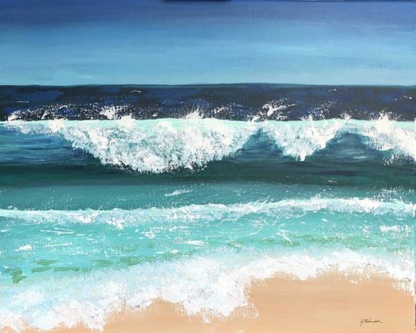 Wall Art - Painting - Wind On The Ocean by Jennifer Richardson
