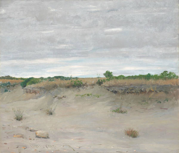 Wall Art - Painting - Wind-swept Sands by William Merritt Chase