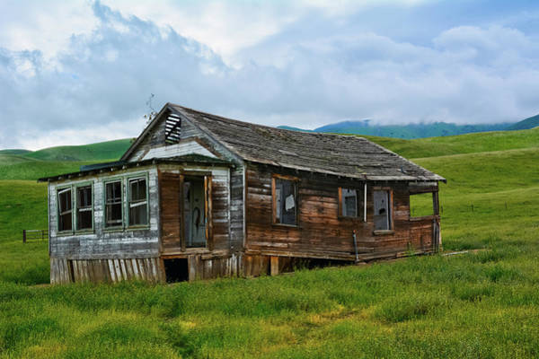 Photograph - Wind Wolves Preserve House by Kyle Hanson