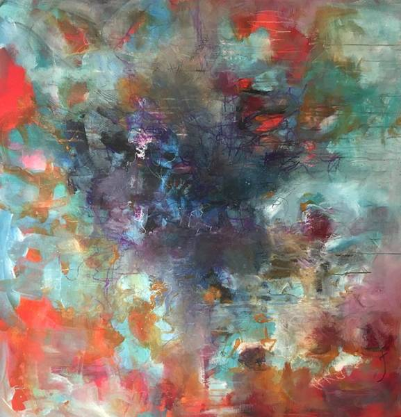 Painting - Wind Your Way Through All The Notes by Laurie Maves ART