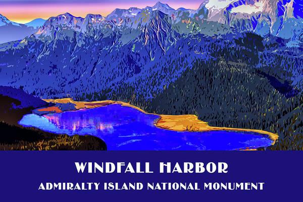 Digital Art - Windfall Harbor by Chuck Mountain