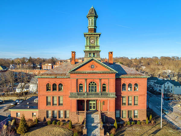 Photograph - Windham City Hall  by Michael Hughes
