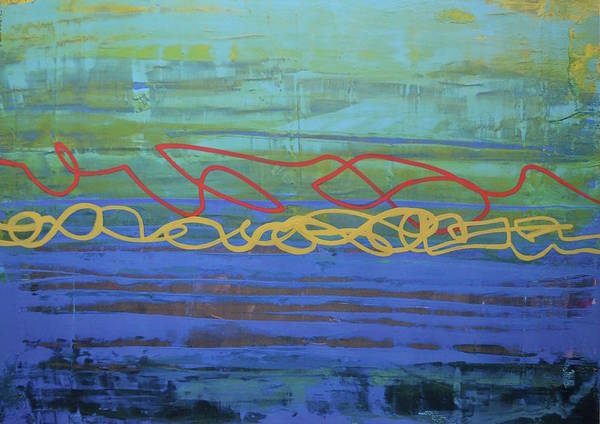 Avondet Wall Art - Digital Art - Winding Path II by Natalie Avondet