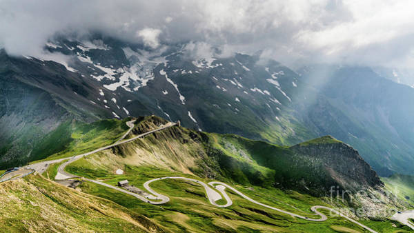 Photograph - Winding Road In Mountains by Mario Visser / 500px