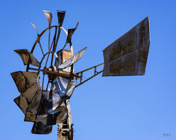 Photograph - Windmill II Color by David Gordon