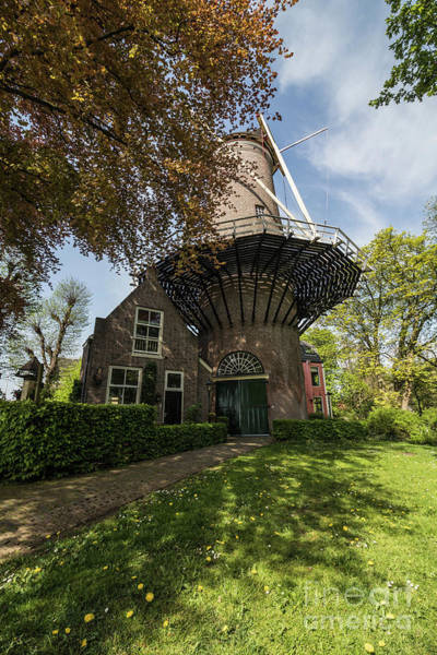 Photograph - Windmill In Gouda by Eva Lechner